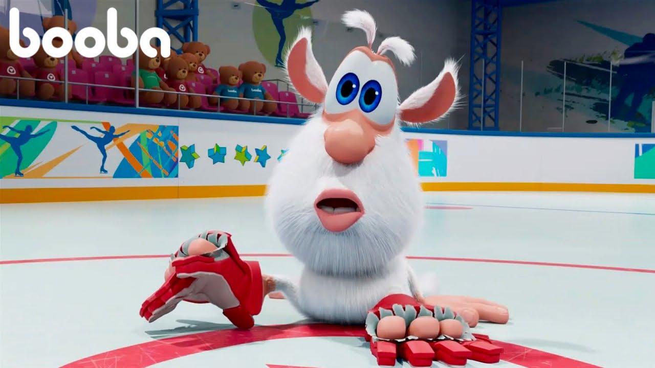 Буба - Играет В Хоккей  🏒 Мультфильм для детей