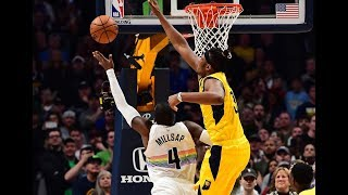 Paul Millsap Gets to the Rack for Game-Winning Shot vs. Indiana Pacers
