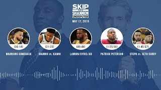 UNDISPUTED Audio Podcast (5.17.19) with Skip Bayless, Shannon Sharpe & Jenny Taft   UNDISPUTED
