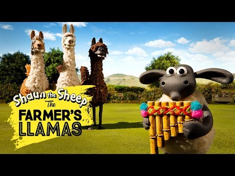 Bagian 1: Llama Pak Tani [The Farmer's Llamas Part 1] | Shaun The Sheep