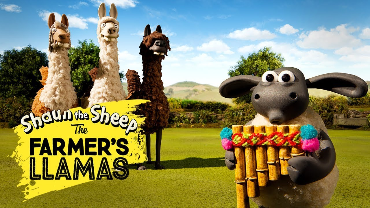 Bagian 1: Llama Pak Tani [The Farmers Llamas Part 1] | Shaun the Sheep