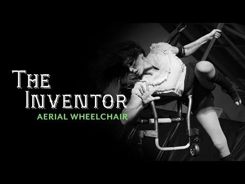 Lauren Watson Aerial Circus Act in a Wheelchair