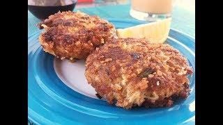 New England Crab Cakes Recipe - Best Classic Crab Cakes! - Episode #250