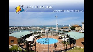Preview of stream Cattolica (Italy) - Live Webcam from Residence FIO