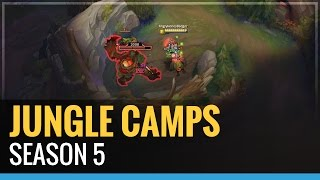 Season 5 Jungle Camps and their Effects