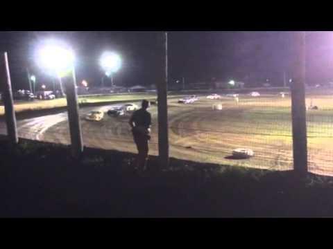 Farmer City Raceway Street stock feature 8-15-2014