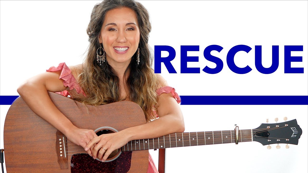 Rescue   Lauren Daigle Guitar Tutorial with Play Along