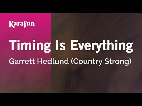 Karaoke Timing Is Everything - Garrett Hedlund *