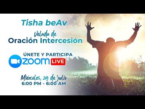 Tisha BeAv - 2a Velada de Oración e Intercesión Yovel