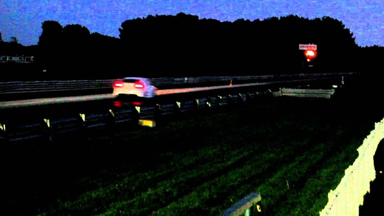 2012 honda civic si hfp vs 2004 ford mustang gt quarter mile race