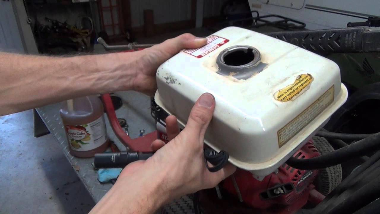 Remove Rust From Your Gas Tank The