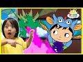 Ryan vs Magical Dragons Cartoon Animation for Kids!!!
