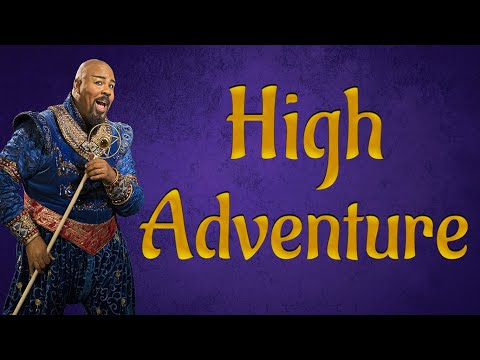 High adventure Aladdin karaoke instrumental backing track