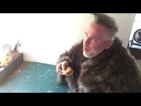 Jeff, the Talking Porcupine, LOVES Pumpkin Pie
