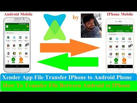 How To Transfer/Share Xender File Android To IPhone! Xender Apk Download! X Ender!
