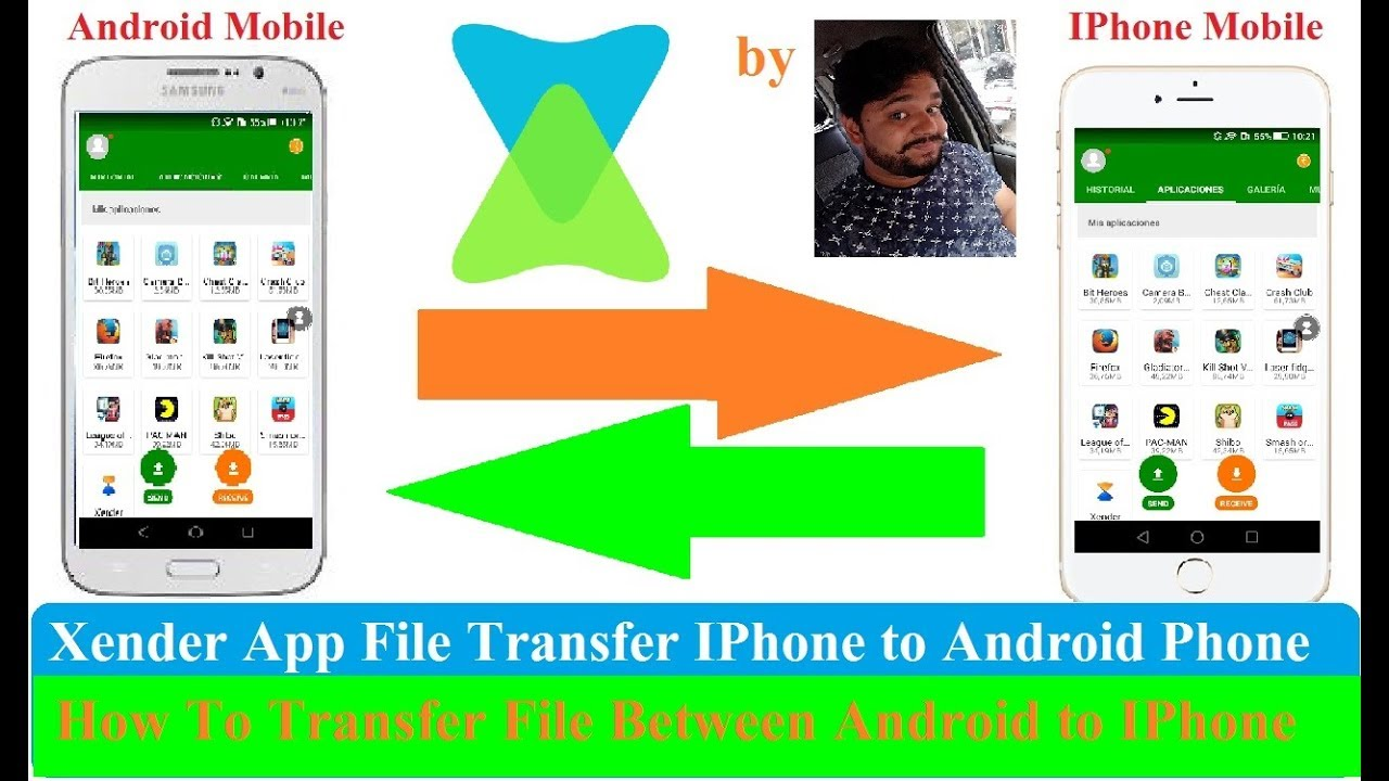 xender apk download for iphone