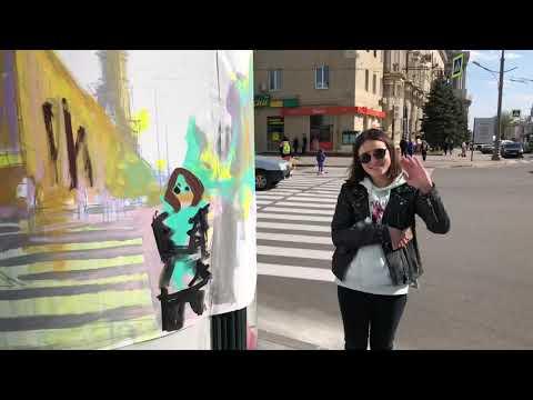 Circular Paintings - Kharkov ///