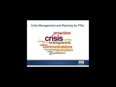 Crisis Management: Building Your Plan, Key Messages and Media Skills