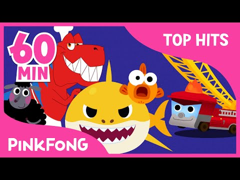 Baby Shark And 50+ Songs | + Compilation | PINKFONG Songs For Children