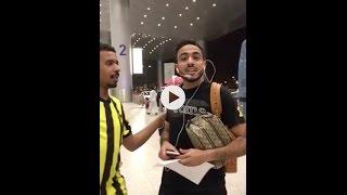 بالفيديو: كهربا يعتدي على مشجع في المطار