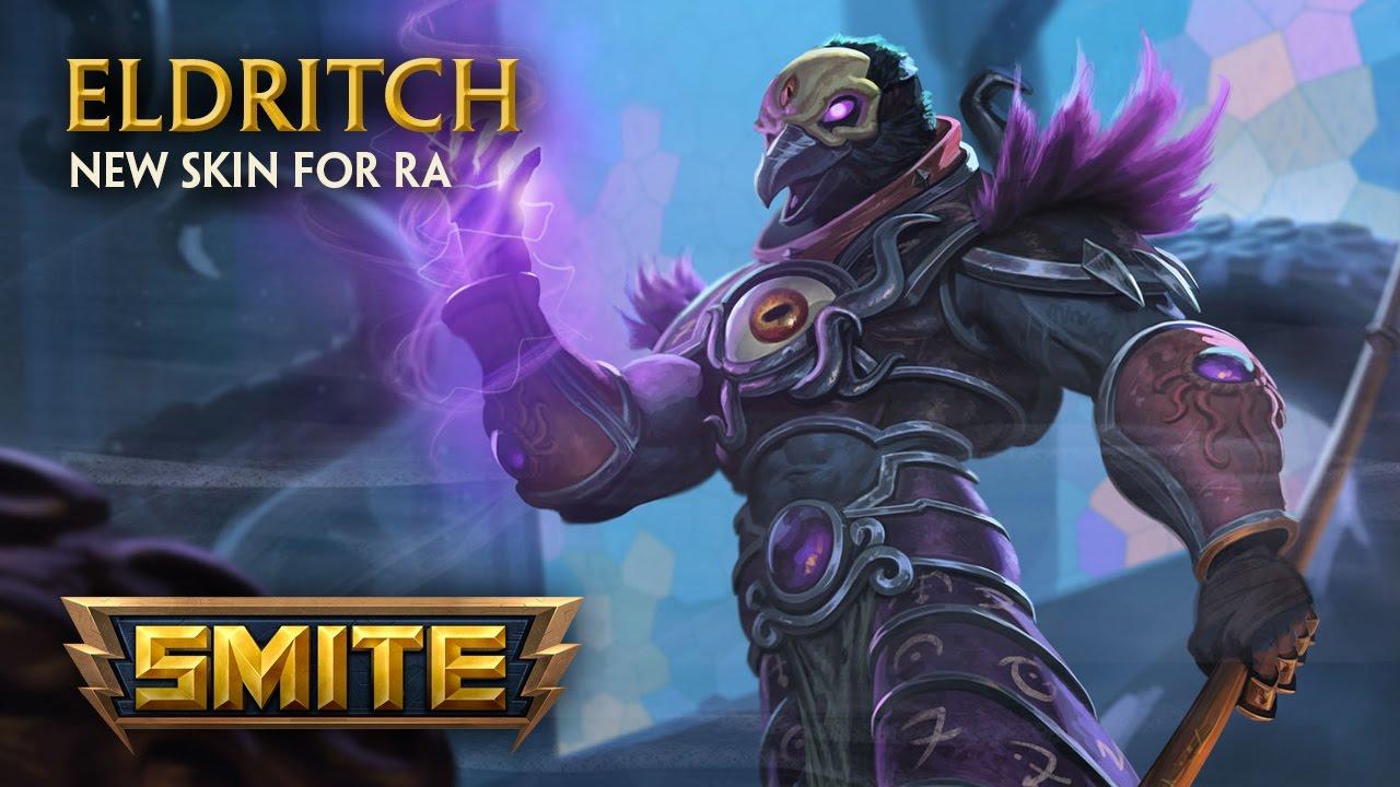 Smite New Skin For Ra Eldritch Youtube