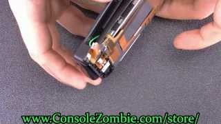 3ds xl top lcd screen replacement and teardown tutorial consolezombie