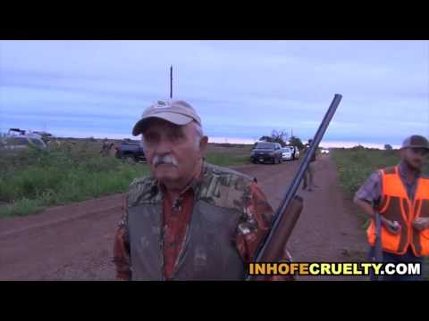 Senator Inhofe's Bloody Weekend of Killing, Cruelty and Lawbreaking