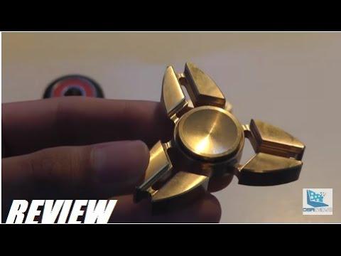 REVIEW: AMONER $18 Brass Fidget Spinner