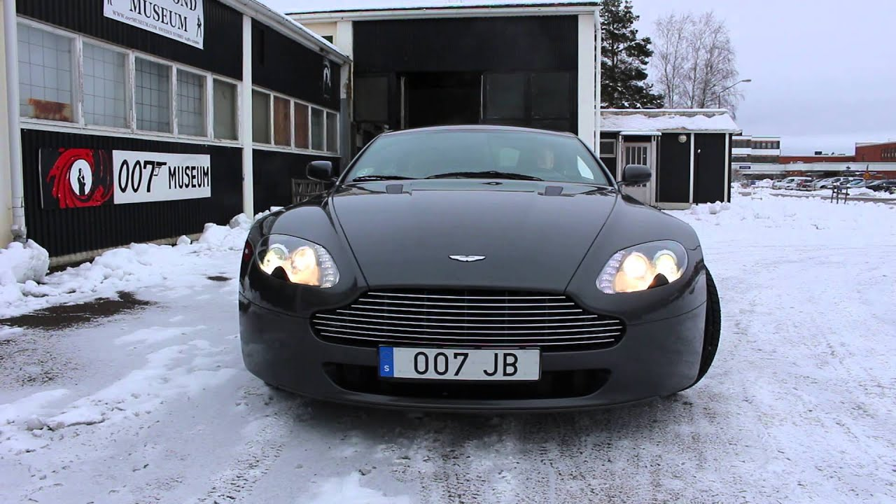 aston martin v8 james bond. james bonds aston martin v8 nybro sweden bond 007 museum.