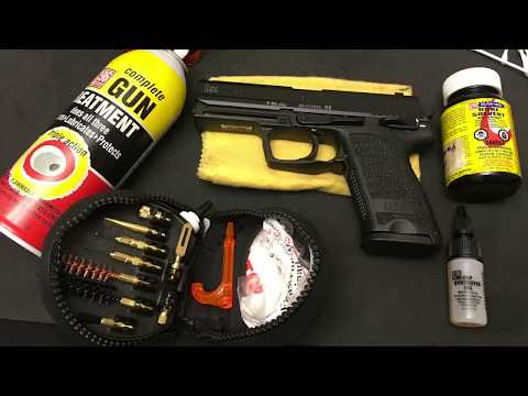 How to Clean a Semi Automatic Pistol