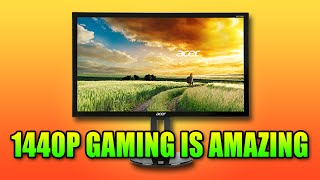 The Joys Of Gaming At 1440p Resolution | Acer XB270HU Battlefield 4 2560x1440