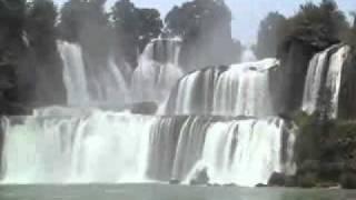 Daxin County, Guangxi, China Waterfall Germany