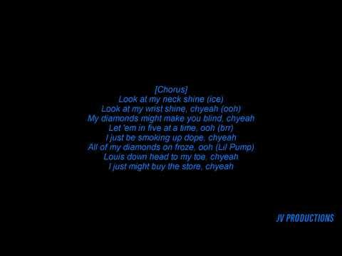 Lil Pump x Carnage - i Shyne Lyrics