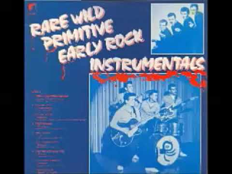 VA – Rare Wild Primitive Early Rock Instrumentals : 50s - 60s Surf Rock & Roll Music Collection LP