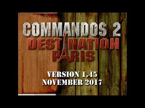 [NEW UPDATE 1.45 2017] Commandos 2 Destination Paris 1.45 Free Download Full Version