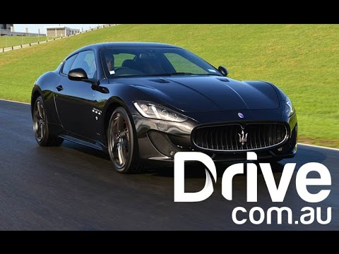 Maserati GranTurismo MC Sportline Review | Drive.com.au