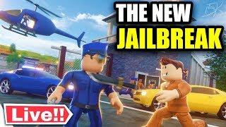 🔴 Roblox PRISON SHOWDOWN RELEASE! (New Jailbreak Game) | Prison Showdown Gameplay | KreekCraft LIVE