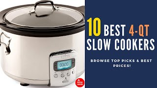10 Best 4 Quart Slow Cookers Review 2019 | Browse Our Top Picks