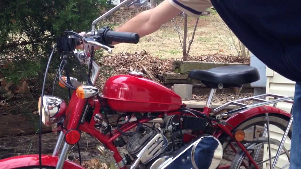 1999 Whizzer USA Motorbike Model WC-1 - YouTube | Whizzer Wiring Diagram |  | YouTube