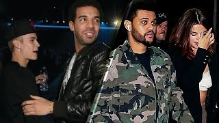 Drake CAUGHT in the Middle of Selena Gomez, Justin Bieber and the Weeknd Love Triangle!