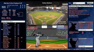 Lets play some Baseball Mogul Demo 1966 Boston vs New York 4/5/66