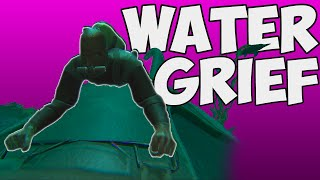 Water Griefing | Official PvP | ARK Survival Evolved Gameplay