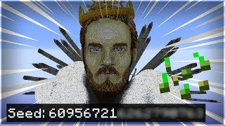 here39s PewDiePie39s minecraft seed