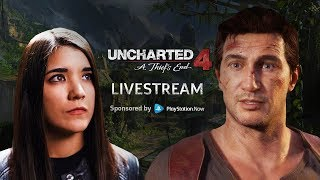 AnneMunition Joins Our Stream for Uncharted 4 on PlayStation Now!