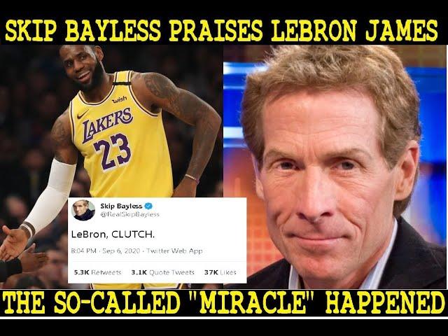 Skip Bayless praises LeBron James goes viral