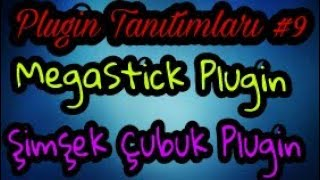 [PocketMine] Şimşek Çubuk Plugini PocketMine\ MegaStick Plugin PocketMine | Plugin Tanıtımları #9