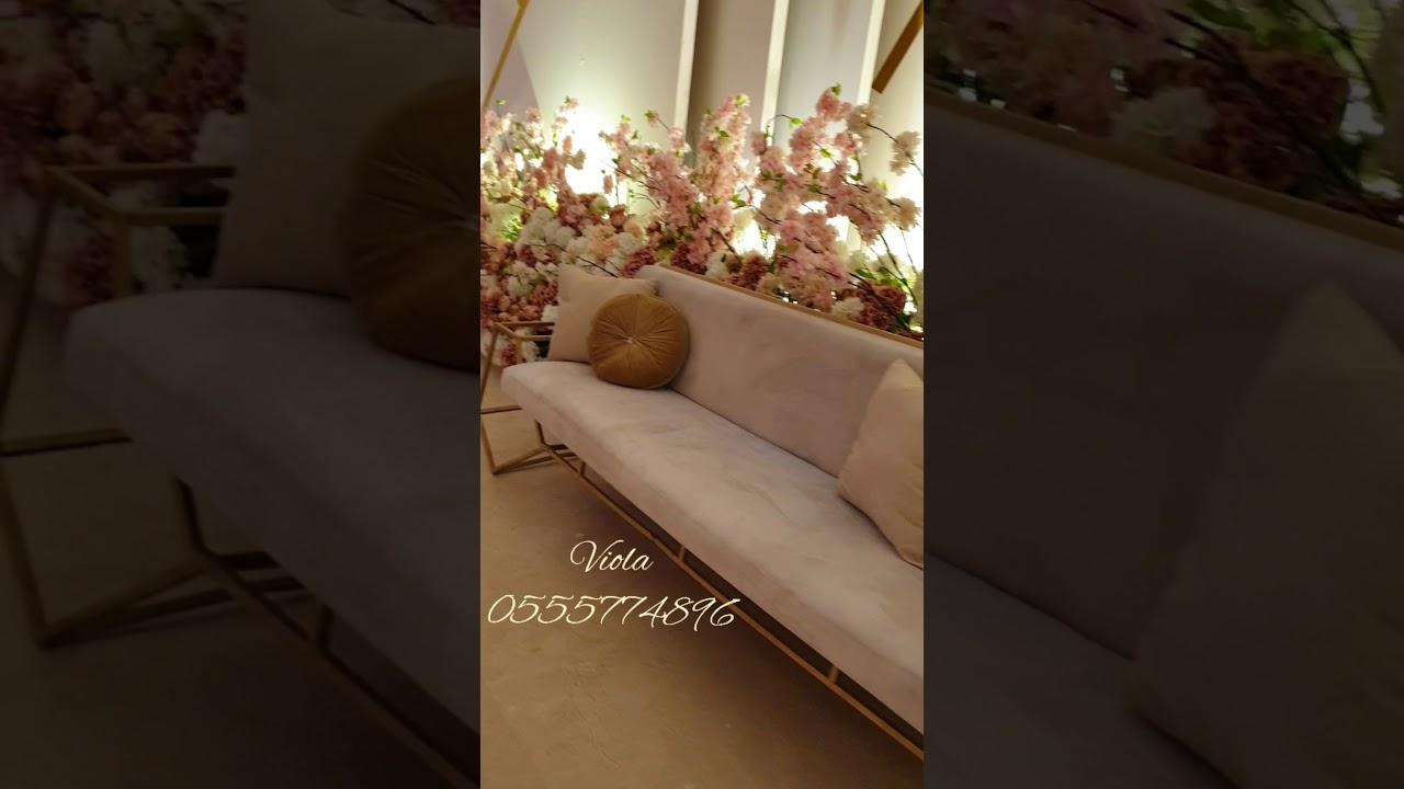 قصر الحلم الابيض فيولا كوش افراح تعهد حفلات 0555774896 انستغرام Vioola 2 Youtube
