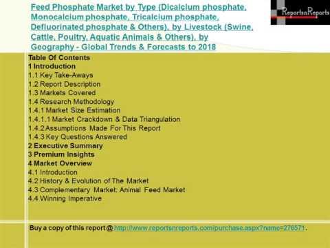 Global Feed Phosphate Market 2018 Forecasts