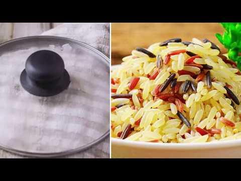 Простой трюк с полотенцем, или Как приготовить рис не хуже, чем в ресторане
