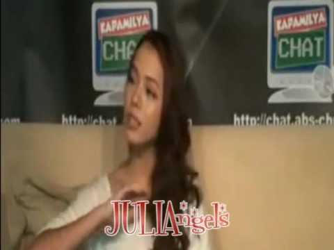 Growing UP: Julia Montes LiveChat
